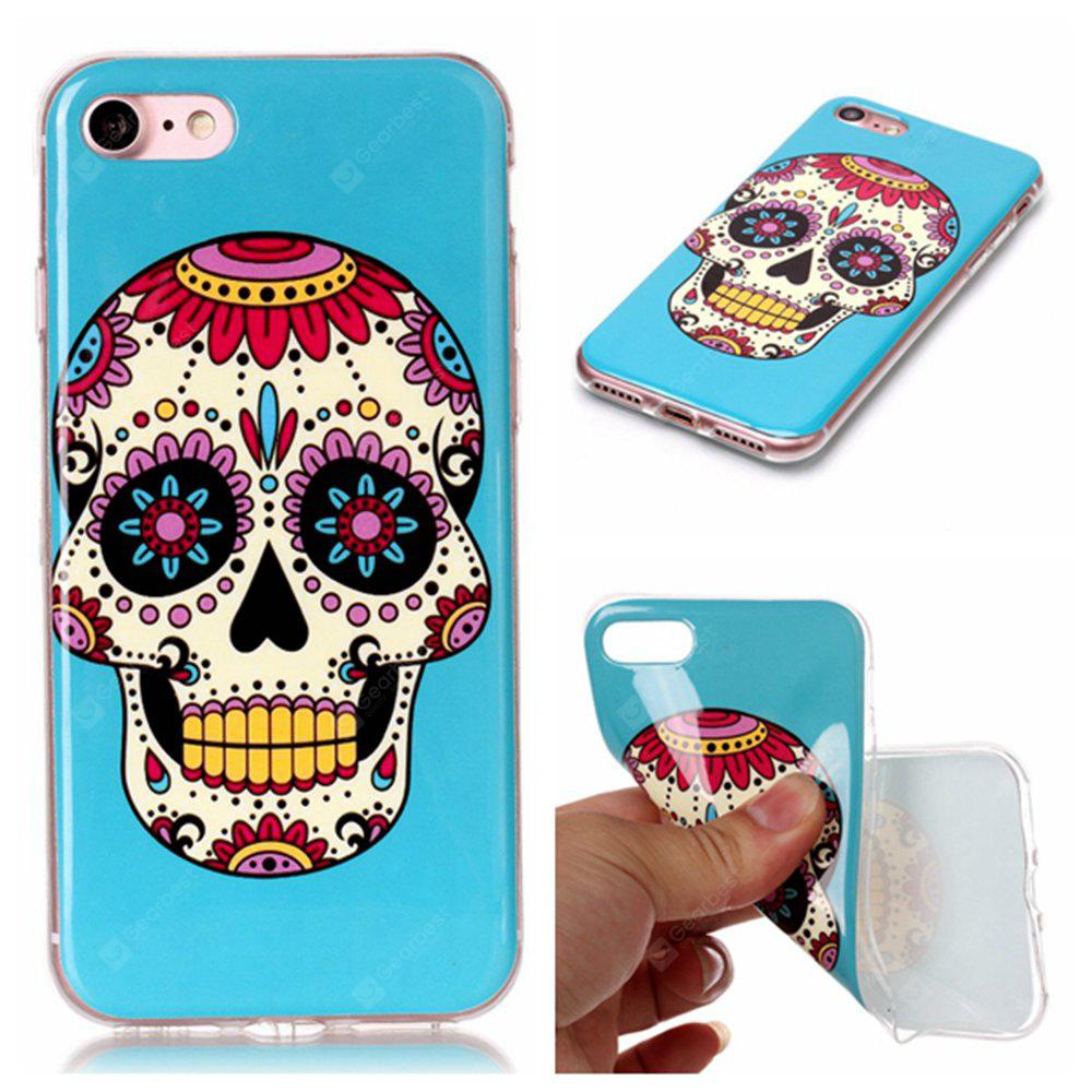 Wkae TPU Material Color Pattern Protection Shell for IPhone 7 / 8