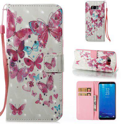 Buy Wkae 3D Stereo Painted Leather Case Cover for Samsung Galaxy S8 Plus, ROSE + WHITE, Mobile Phones, Cell Phone Accessories, Samsung Accessories, Samsung S Series for $3.85 in GearBest store