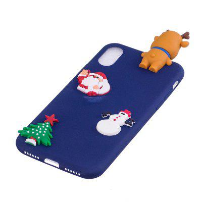 Fashionable Christmas Deer Silicone Case for iPhone XiPhone Cases/Covers<br>Fashionable Christmas Deer Silicone Case for iPhone X<br><br>Color: Black,White,Red,Blue<br>Compatible for Apple: iPhone X<br>Features: Back Cover<br>Material: Silicagel<br>Package Contents: 1 x Phone Case<br>Package size (L x W x H): 14.00 x 6.80 x 1.30 cm / 5.51 x 2.68 x 0.51 inches<br>Package weight: 0.0200 kg<br>Style: Novelty