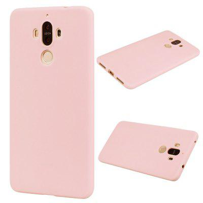 Buy PINK Textured Ultra-Slim TPU Soft Back Case for Huawei Mate 9 for $2.67 in GearBest store