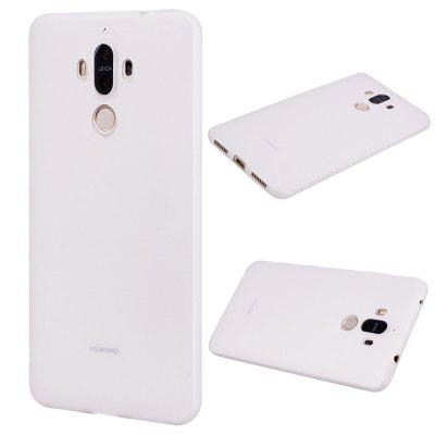 Buy WHITE Textured Ultra-Slim TPU Soft Back Case for Huawei Mate 9 for $2.67 in GearBest store