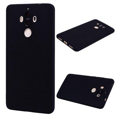 Buy BLACK Textured Ultra-Slim TPU Soft Back Case for Huawei Mate 9 for $2.67 in GearBest store