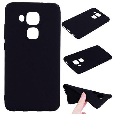 Buy BLACK Textured Ultra-Slim TPU Soft Back Case for Huawei Nova Plus for $2.67 in GearBest store