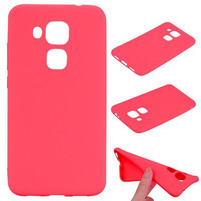 Buy RED Textured Ultra-Slim TPU Soft Back Case for Huawei Nova Plus for $2.67 in GearBest store
