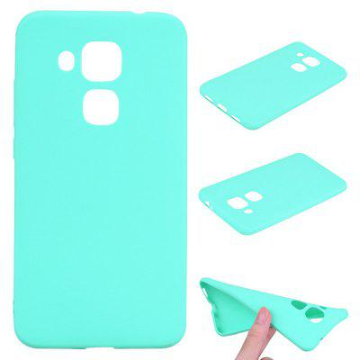 Buy BLUE Textured Ultra-Slim TPU Soft Back Case for Huawei Nova Plus for $2.67 in GearBest store