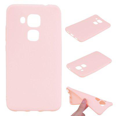 Buy PINK Textured Ultra-Slim TPU Soft Back Case for Huawei Nova Plus for $2.67 in GearBest store