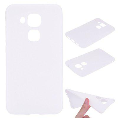 Buy WHITE Textured Ultra-Slim TPU Soft Back Case for Huawei Nova Plus for $2.67 in GearBest store