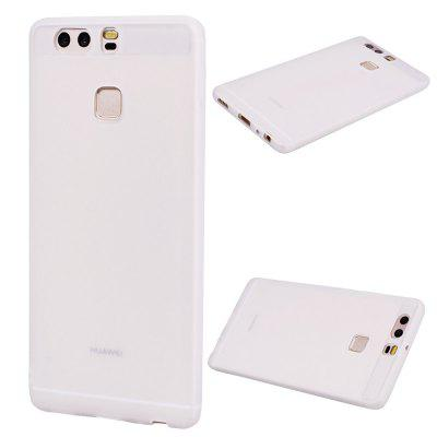 Buy Textured Ultra-Slim TPU Soft Back Case for Huawei P9, WHITE, Mobile Phones, Cell Phone Accessories, Cases & Leather for $1.74 in GearBest store