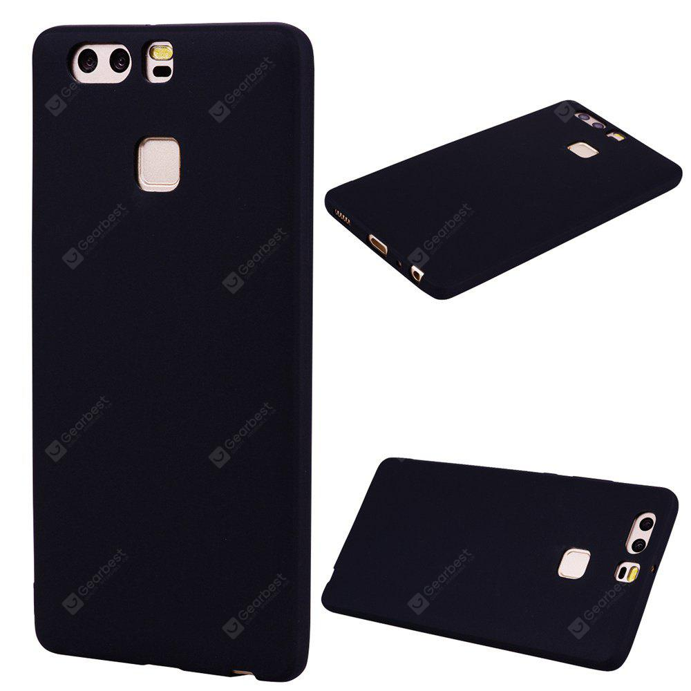 Textured Ultra-Slim TPU Soft Back Case for Huawei P9