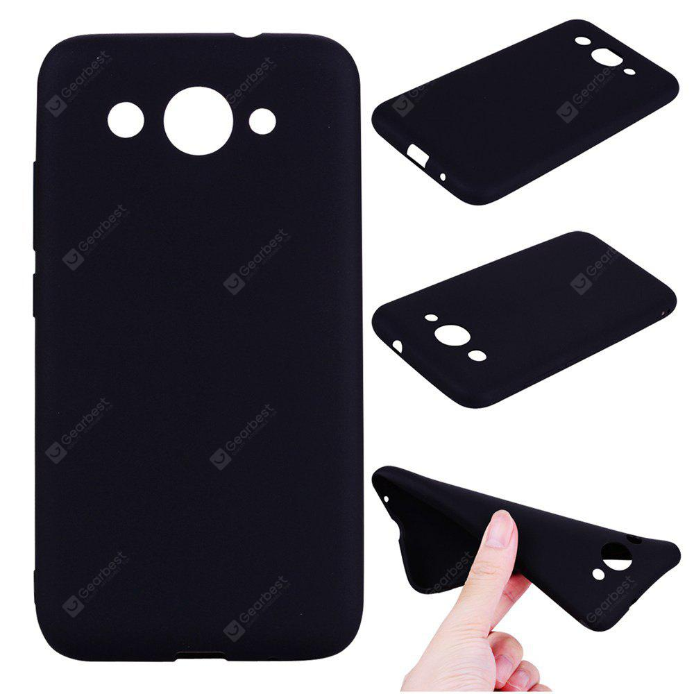 Textured Ultra-Slim TPU Soft Back Case for Huawei Y3 2017