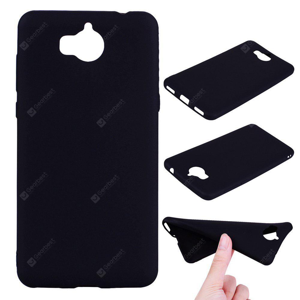 Textured Ultra-Slim TPU Soft Back Case for Huawei Y5 2017