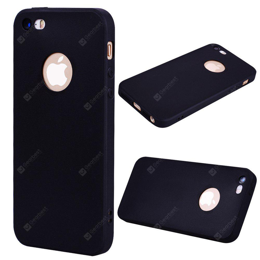 Textured Ultra-Slim TPU Soft Back Case for iPhone SE