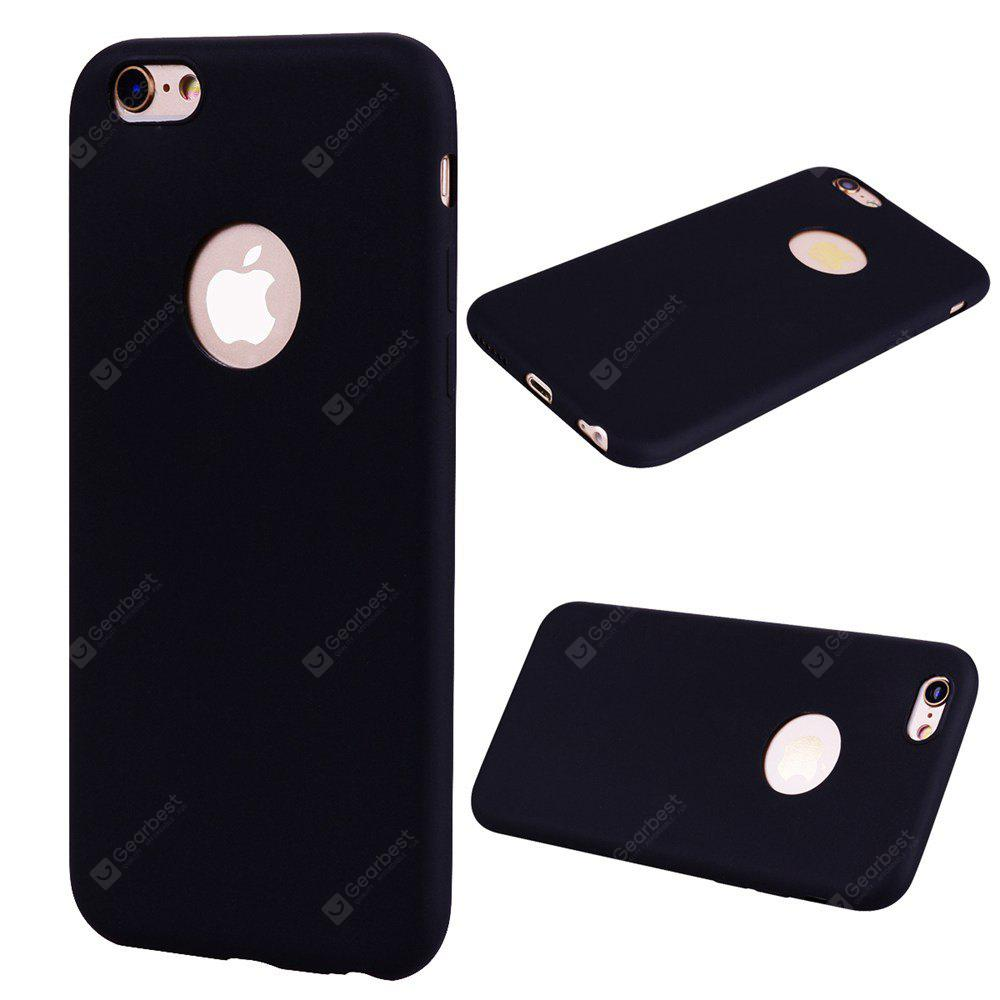 Textured Ultra-Slim TPU Soft Back Case for iPhone 6S