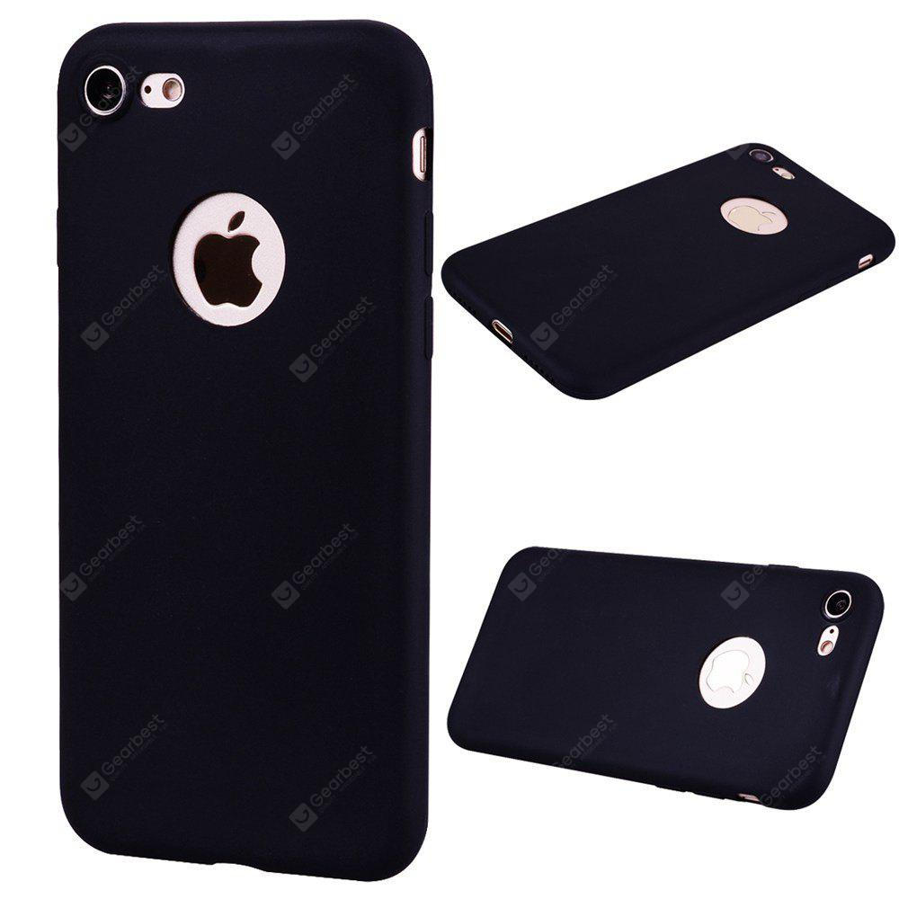 Textured Ultra-Slim TPU Soft Back Case for iPhone 7