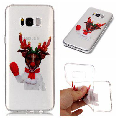 Christmas Style TPU Soft Back Case for Samsung Galaxy S8