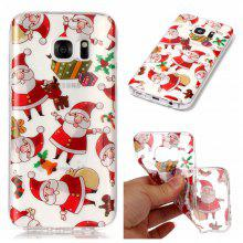 Christmas Style TPU Soft Back Case for Samsung Galaxy S7