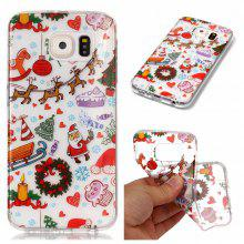Christmas Style TPU Soft Back Case for Samsung Galaxy S6