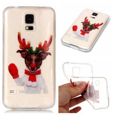 Christmas Style TPU Soft Back Case for Samsung Galaxy S5