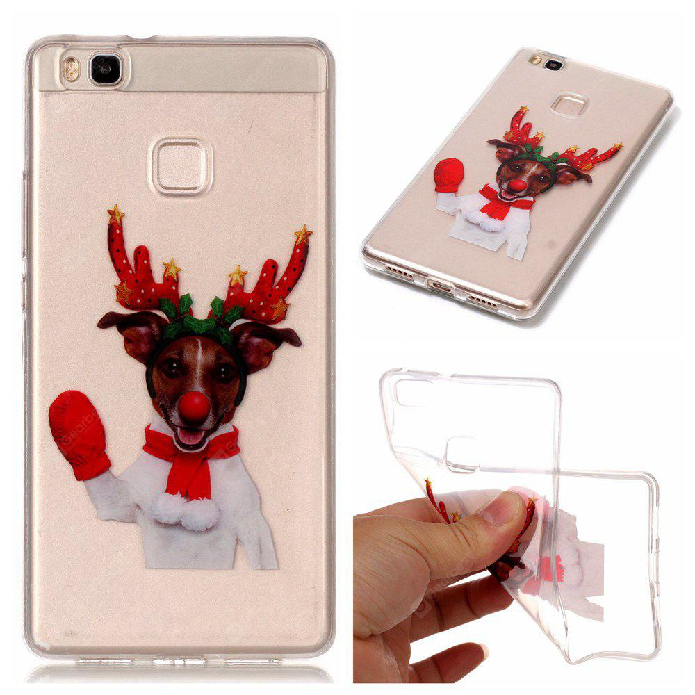 Christmas Style TPU Soft Back Case for Huawei P9 Lite