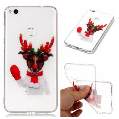 Christmas Style TPU Soft Back Case for Huawei P8 Lite 2017