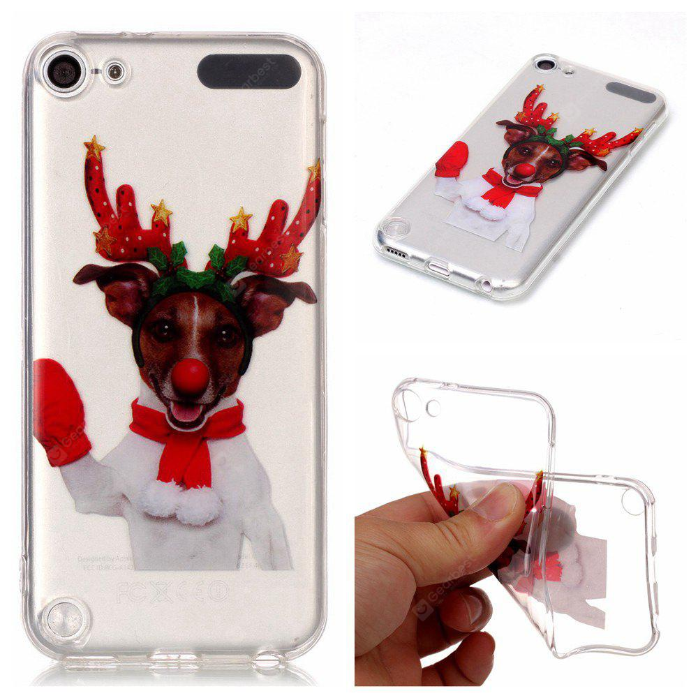 Christmas Style TPU Soft Back Case for iPod Touch 5