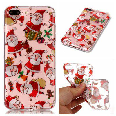 Christmas Style TPU Soft Back Case for iPhone 7 Plus