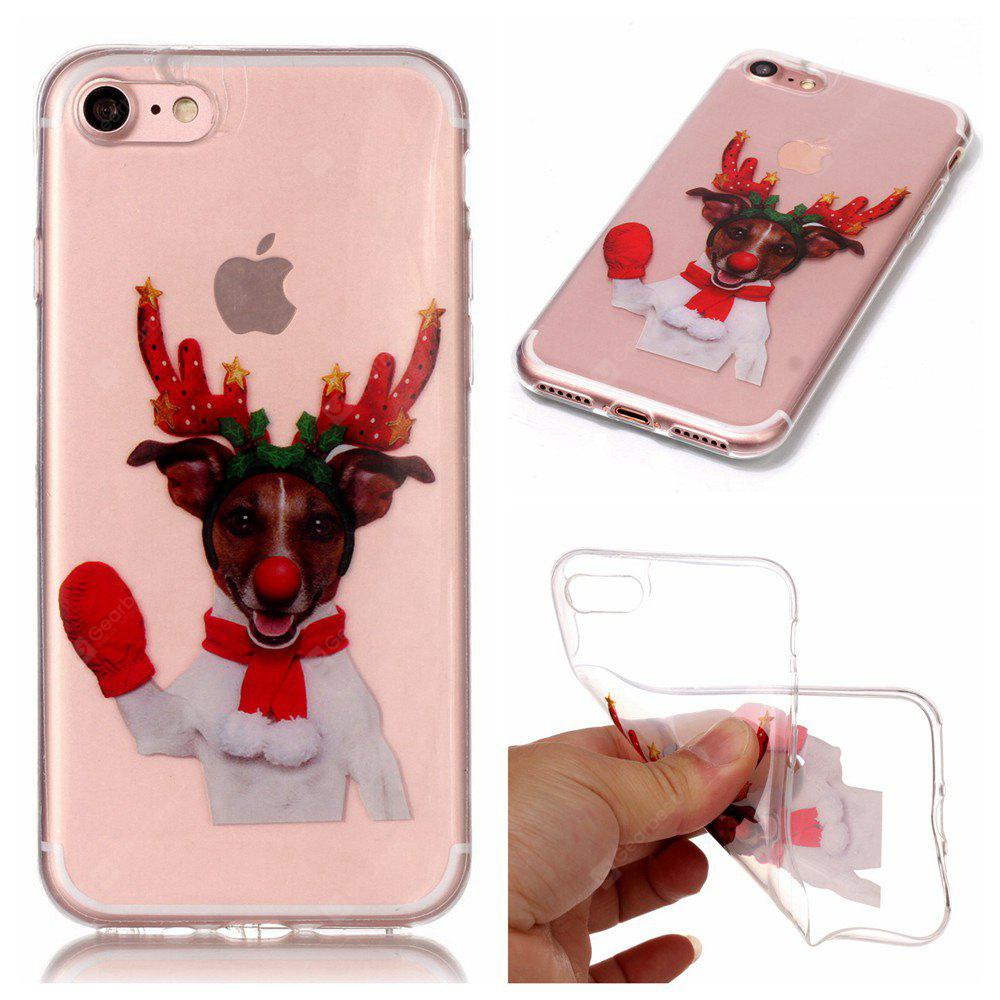 Christmas Style TPU Soft Back Case for iPhone 7
