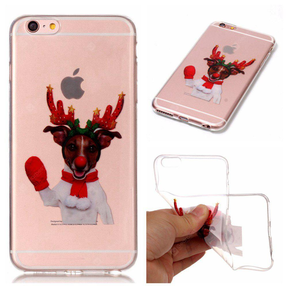Christmas Style TPU Soft Back Case for iPhone 6S Plus