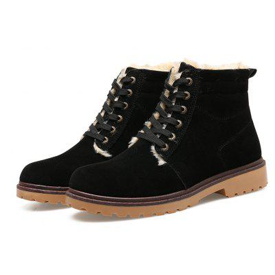 "Men Winter Martin Cotton BootsMens Boots<br>Men Winter Martin Cotton Boots<br><br>Boot Height: Ankle<br>Boot Type: Riding/Equestrian<br>Closure Type: Lace-Up<br>Embellishment: None<br>Gender: For Men<br>Heel Hight: Low(0.75""-1.5"")<br>Heel Type: Low Heel<br>Outsole Material: Rubber<br>Package Contents: 1xShoes(pair)<br>Pattern Type: Solid<br>Season: Winter<br>Toe Shape: Round Toe<br>Upper Material: Full Grain Leather<br>Weight: 1.2000kg"