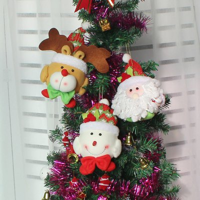 WS 0205 Christmas Snowman Doll Children Gift Decoration Tree PendantChristmas Supplies<br>WS 0205 Christmas Snowman Doll Children Gift Decoration Tree Pendant<br><br>Brand: WS<br>For: All, Kids, Others<br>Material: Flocking Fabric, Foam, Lint<br>Package Contents: 1 x Christmas Pendant<br>Package Quantity: 1 x Christmas Pendant<br>Package size (L x W x H): 15.00 x 13.00 x 3.00 cm / 5.91 x 5.12 x 1.18 inches<br>Package weight: 0.0500 kg<br>Product size (L x W x H): 16.00 x 10.00 x 3.00 cm / 6.3 x 3.94 x 1.18 inches<br>Product weight: 0.0490 kg<br>Usage: Christmas, Wedding, Party