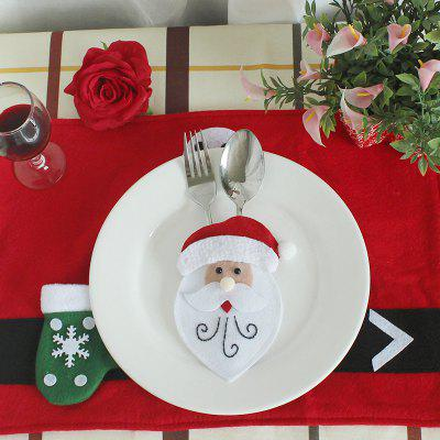 Ws 0210 santa claus snowman reindeer with pocket party for Snowman pocket tissues