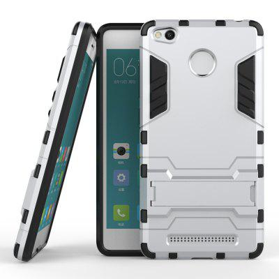Dual Layer Armor Defender Shockproof Protective Hard Case With Stand for Xiaomi Redmi 3 Pro / 3S