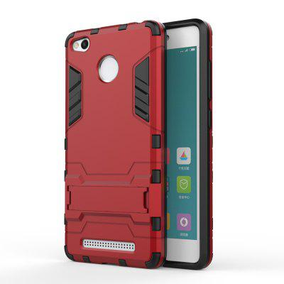 Dual Layer Armor Defender Shockproof Protective Hard Case With Stand for Xiaomi Redmi 3 Pro / 3SCases &amp; Leather<br>Dual Layer Armor Defender Shockproof Protective Hard Case With Stand for Xiaomi Redmi 3 Pro / 3S<br><br>Color: Silver,Red,Blue,Gold,Gray,Dark blue<br>Compatible Model: Xiaomi Redmi 3Pro / 3S<br>Features: Back Cover, Anti-knock<br>Mainly Compatible with: Xiaomi<br>Material: PC, TPU<br>Package Contents: 1 x Phone Case<br>Package size (L x W x H): 18.00 x 12.00 x 2.00 cm / 7.09 x 4.72 x 0.79 inches<br>Package weight: 0.2000 kg<br>Style: Cool