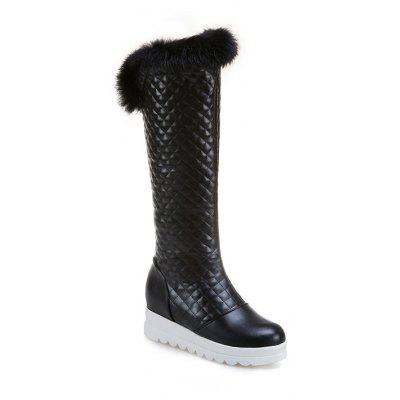 Buy BLACK 35 In Autumn and Winter The New Boots of Female Boots for $52.05 in GearBest store