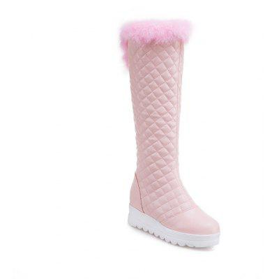 Buy PINK 35 In Autumn and Winter The New Boots of Female Boots for $52.05 in GearBest store