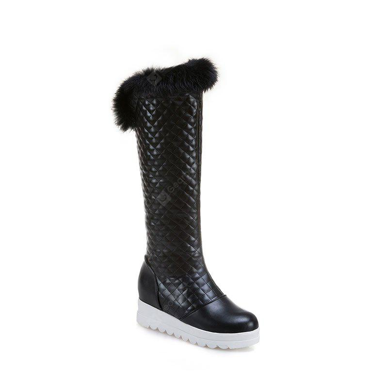 In Autumn and Winter The New Boots of Female Boots