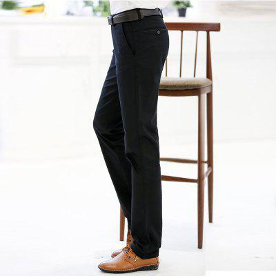 Straight Comfortable Slim Suit Pants Black MaleMens Pants<br>Straight Comfortable Slim Suit Pants Black Male<br><br>Closure Type: Zipper Fly<br>Color: Black<br>Elasticity: Micro-elastic<br>Embellishment: Pockets,Zippers<br>Fabric Type: Broadcloth<br>Fit Type: Straight<br>Front Style: Flat<br>Length: Normal<br>Material: Spandex, Cotton, 98%Cotton 2%Spandex<br>Package Contents: 1 X Suit Pant<br>Package size (L x W x H): 1.00 x 1.00 x 1.00 cm / 0.39 x 0.39 x 0.39 inches<br>Package weight: 0.6000 kg<br>Pant Style: Straight<br>Pattern Type: Solid<br>Style: Formal<br>Thickness: Standard<br>Waist Type: Mid<br>With Belt: No