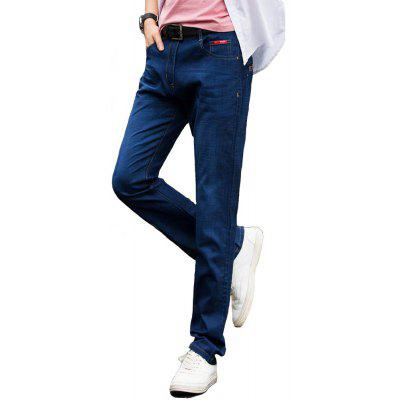 Business Contracted Comfortable Jeans Male High Quality