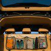 Multifunctional Car Back Seat Container Hanging Recipes Storage Bag - BLACK