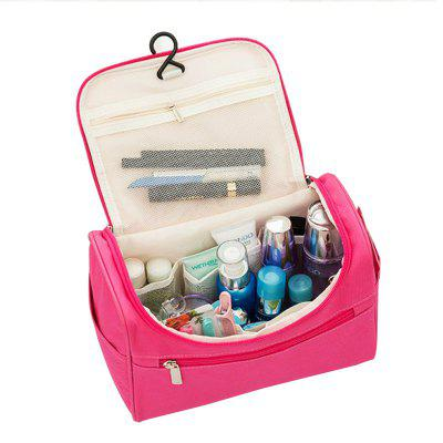 Travel Solid Storage Bag Double-layers High Capacity Washing Organizer