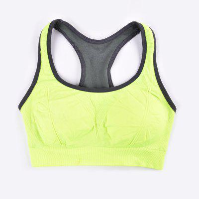 Comfortable Ladies Yoga Sports Bra Breathable Seamless Fabric SupportiveSweatshirts &amp; Hoodies<br>Comfortable Ladies Yoga Sports Bra Breathable Seamless Fabric Supportive<br><br>Elasticity: Elastic<br>Fabric Type: Broadcloth<br>Material: Nylon<br>Package Contents: 1 x Sports Bra<br>Pattern Style: Striped<br>Shirt Length: Regular<br>Sleeve Length: Sleeveless<br>Style: Active<br>Weight: 0.0850kg