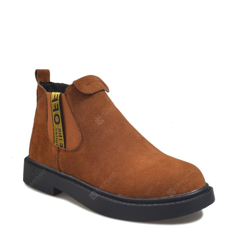 New Winter Boots A British Style Fashion Flat Keel Martin Wedgie