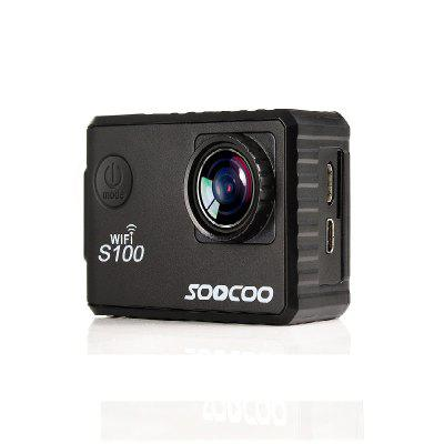 SOOCOO Brand S100 Sports Webcam Wifi 4K NTK96660 Band GPS Function Gyro WaterproofAction Cameras<br>SOOCOO Brand S100 Sports Webcam Wifi 4K NTK96660 Band GPS Function Gyro Waterproof<br><br>Aerial Photography: Yes<br>Anti-shake: Yes<br>Application: Underwater, Bike, Extreme Sports, Motorcycle, Aerial Photography, Ski<br>Battery Capacity (mAh): 1050<br>Battery Type: Removable<br>Brand: Soocoo<br>Camera Timer: Yes<br>Capacity: 1050<br>Charge way: AC adapter,USB charge by PC,Car charger<br>Charging Time: 4H<br>Chipset: Novatek 96660<br>Chipset Name: Novatek<br>Delay Shutdown: Yes<br>FPV Output: Yes<br>Frequency: 50Hz,60Hz<br>Function: Loop-cycle Recording, G-sensor, GPS, WiFi, WDR, Time Lapse, Anti-Shake, Remote Control, Night Vision, Motion Detection, Camera Timer, FPV Output, Waterproof<br>G-sensor: Yes<br>GPS: Yes<br>HDMI Output: Yes<br>HDR: Yes<br>Image Format: JPEG<br>Image resolutions: 4032 x 3024 (12MP), 3264 x 2448 (8MP), 1600 x 1200 (2MP), 2560 x 1920 (5MP), 5120 x 3840 (20M)<br>Interface Type: Micro USB, TF Card Slot, Micro HDMI<br>ISO: ISO100,ISO200,ISO400<br>Language: English,French,Spanish,Portuguese,Russian,German,Italian,Dutch,Polish,Simplified Chinese,Traditional Chinese,Japanese,Korean<br>Loop-cycle Recording: Yes<br>Loop-cycle Recording Time: 10min,3min,5min<br>Microphone: Built-in<br>Model: S100<br>Motion Detection: Yes<br>Night vision: Yes<br>Package Contents: 1 x Waterproof Cover, 1 x Bicycle Bracket, 1 x Mounts, 1 x Helm Seat, 1 x Bandages, 1 x Cable Ties, 1 x 3M Glue, 1 x Rope, 1 x USB Cable, 1 x Manual, 1 x Cleaning Cloth, 1 x Adaptor Bracket, 2 x Pedes<br>Package size (L x W x H): 22.60 x 12.70 x 7.00 cm / 8.9 x 5 x 2.76 inches<br>Package weight: 0.6300 kg<br>Product size (L x W x H): 5.90 x 4.10 x 3.20 cm / 2.32 x 1.61 x 1.26 inches<br>Product weight: 0.0620 kg<br>Remote Control: Yes<br>Scene: Sport, Twilight, Fireworks, Beach, Auto, Landscape, Portrait, Snow<br>Screen: With Screen<br>Screen size: 2.0inch<br>Sensor Brand: Sony<br>Standby time: 90min<br>Time lapse: Yes<br>Type: FPV Action Camera, Sports Camera<br>Type of Camera: 4K<br>Video format: MP4<br>Video Frame Rate: 30FPS,60FPS,120fps,240fps,24fps<br>Video Resolution: 1920 x 1080 ( 60fps ),4K ( 24fps ) ( 2880 x 2160 ),720P ( 1280 x 720 ) ( 120fps?,1920 x 1440P?30FPS?,VGA?240FPS?,1080P ( 1920 x 1080 ) 60fps<br>Video System: PAL,NTSC<br>Waterproof: Yes<br>Waterproof Rating: 30m<br>WDR: Yes<br>WIFI: Yes<br>WiFi Distance: 15m<br>WiFi Function: Remote Control,Image Transmission,Settings,Sync and Sharing Albums<br>Working Time: 90min
