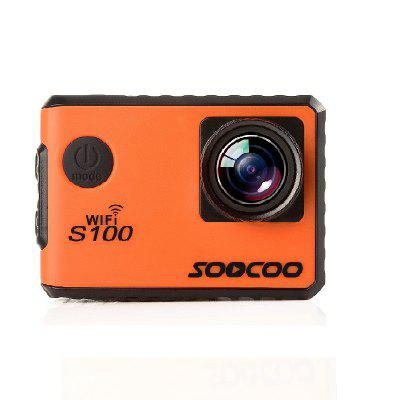 SOOCOO Brand S100 Sports Webcam Wifi 4K NTK96660 Band GPS Function Gyro Waterproof