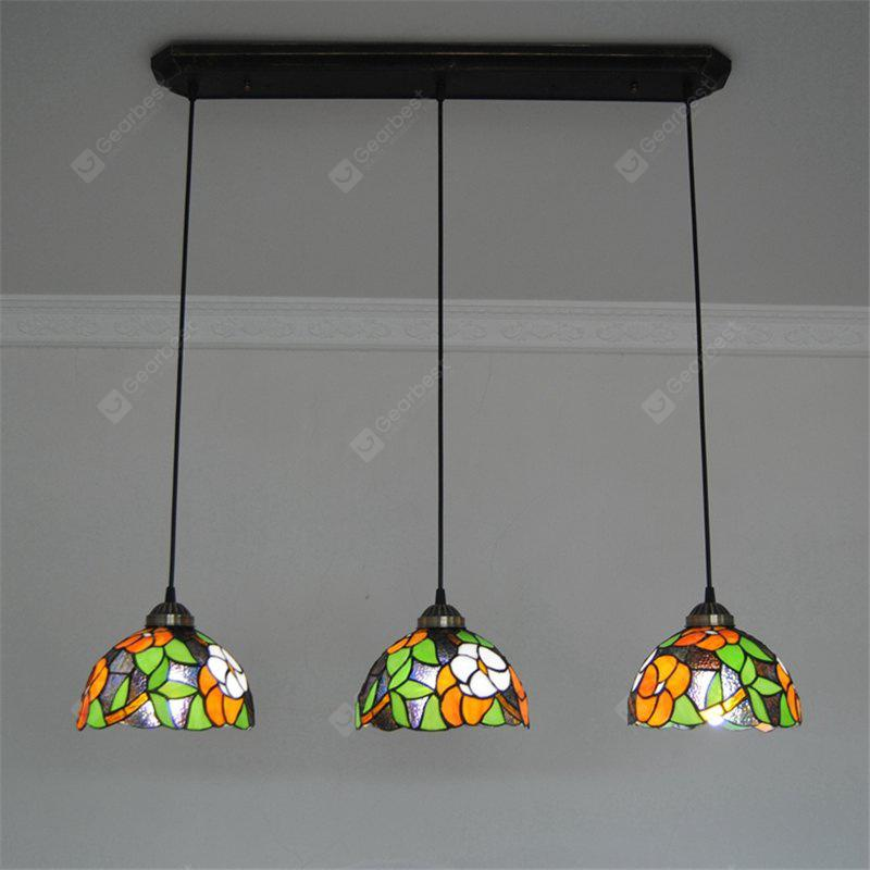 Modern Art Glass Lamp Shade Lustre Vanity Pendant Light Fixtures Chandelier Luminaire DFNDD-26