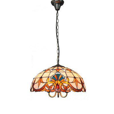 Modern Art Glass Lamp Shade Lustre Vanity Pendant Light Fixtures Chandelier Luminaire DFNDD-61
