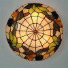 Modern Art Crafts Nordic Stained Glass Lamp Shade Lustre Vanity Flush Mount Ceiling Light Fixtures Chandelier Living Room Luminaire DFNXDD-06 - COLORMIX