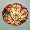 Modern Art Crafts Nordic Stained Glass Lamp Shade Lustre Vanity Flush Mount Ceiling Light Fixtures Chandelier Living Room Luminaire DFNXDD-08 - COLORMIX