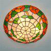 Modern Art Crafts Nordic Stained Glass Lamp Shade Lustre Vanity Flush Mount Ceiling Light Fixtures Chandelier Living Room Luminaire DFNXDD-11 - COLORMIX