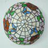 Modern Art Crafts Nordic Stained Glass Lamp Shade Lustre Vanity Flush Mount Ceiling Light Fixtures Chandelier Living Room Luminaire DFNXDD-16 - COLORMIX